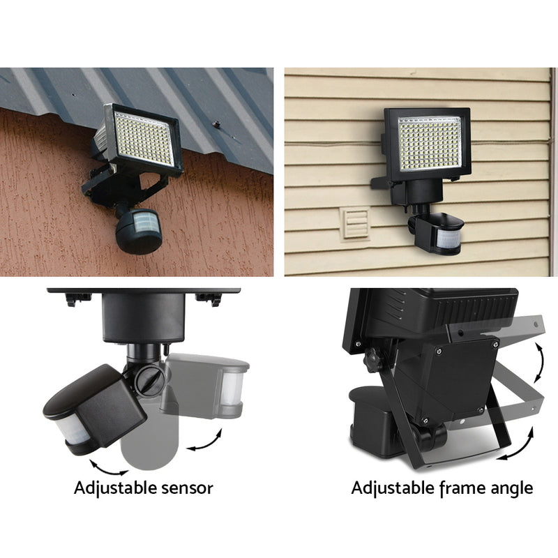 120 LED Solar Lights Sensor Light Outdoor Security Motion Detection