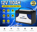 12V 110Ah AGM Deep Cycle Battery
