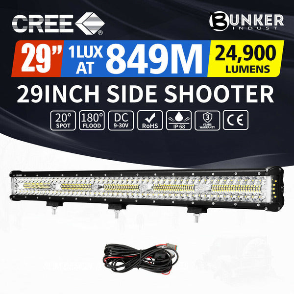 9D CREE LED LIGHT BAR,12,20,23,& 29 INCH