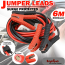 3000AMP Jumper Leads 6M Long Surge Protected
