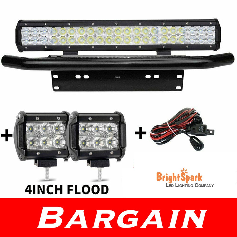 20inch CREE LED Light Bar Number Plate Mount