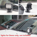 LED Light Bar Mounting Bracket Powerful Magnetic