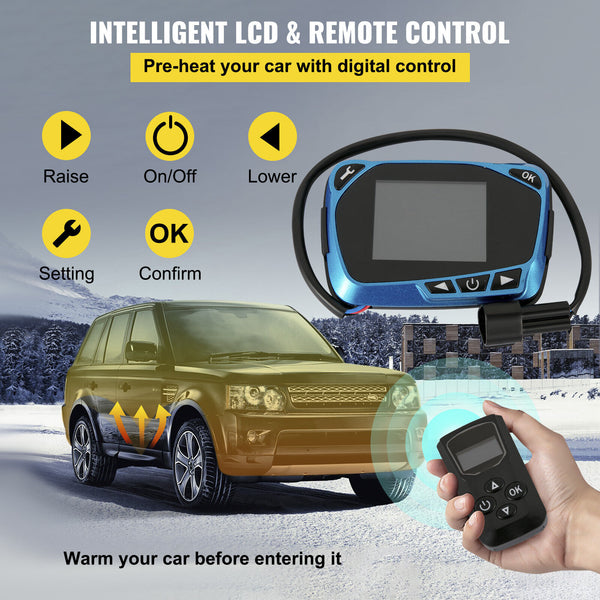 Vehicle Air Diesel Parking Fuel Heater Warming 2kw