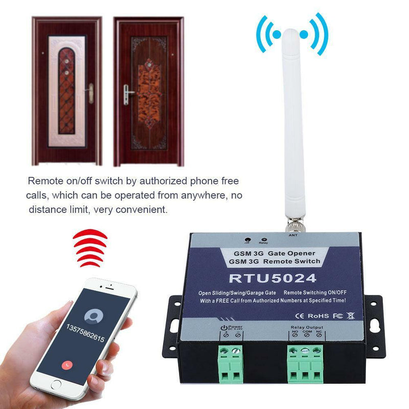 RTU5024 GSM Gate Opener Relay Switch Phone