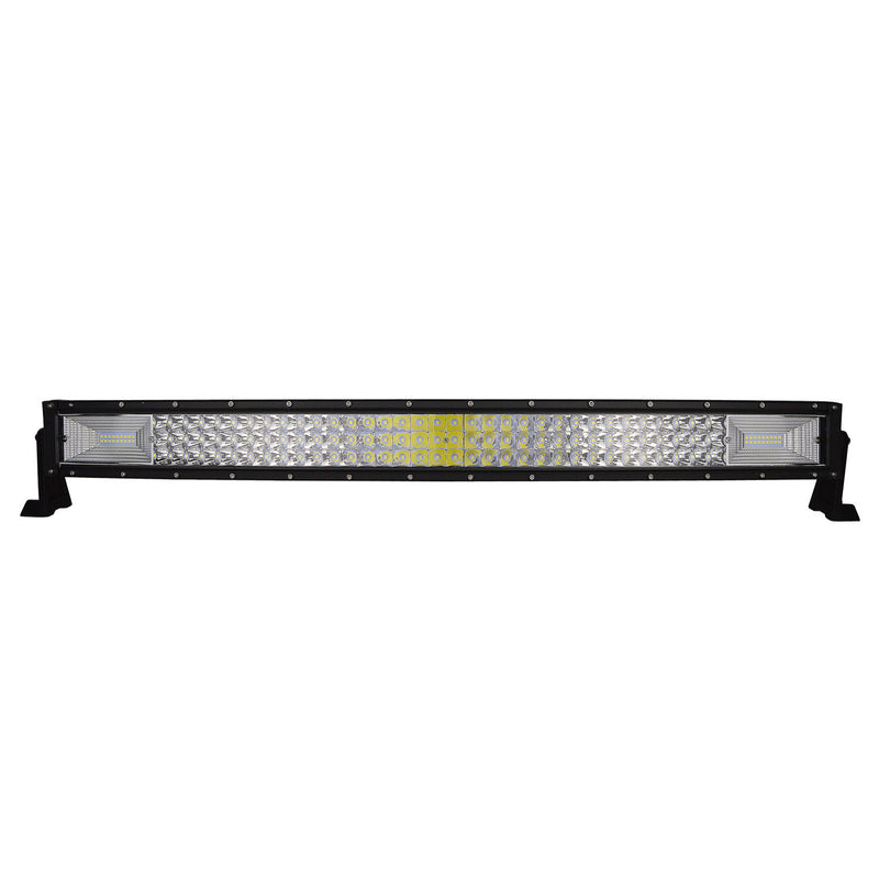 "52"" 7D. Curved Led Light Bar + 2 x 5"" lights - BrightSparkLedCo"