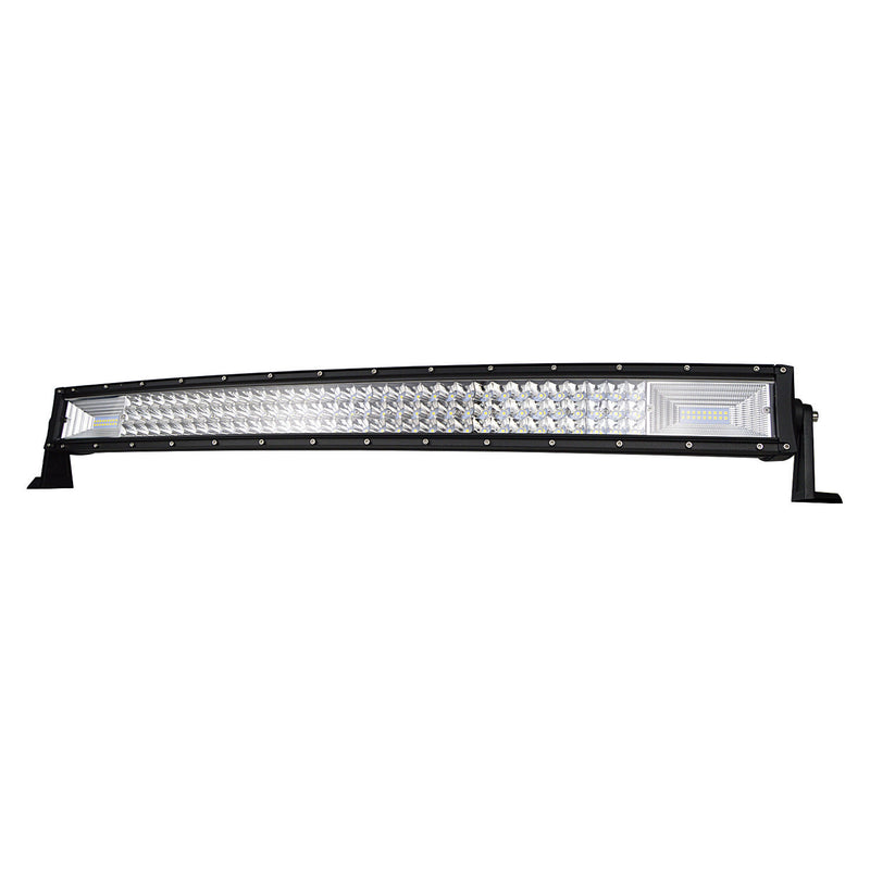 "52"" 7D. Curved Led Light Bar + Windscreen Mounts - BrightSparkLedCo"