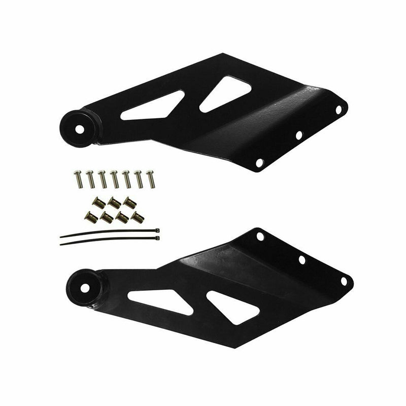 Windshield mounting brackets Suited for 52""