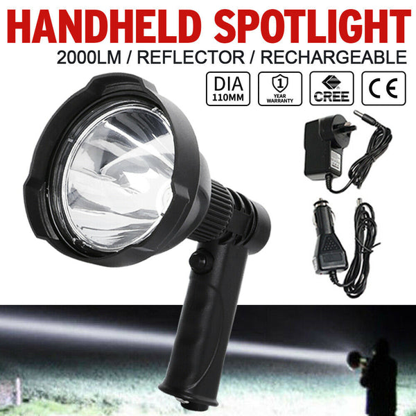 25W CREE Handheld Spot Light Rechargeable