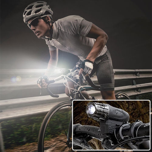 Bicycle LED Light  AND Rear Safety Flashlight Rechargeable - BrightSparkLedCo