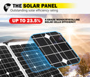 12V Folding Solar Panel Kit,All sizes