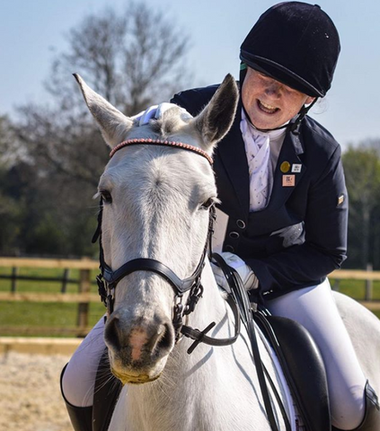 Lauren Ransom Two White Socks equestrian