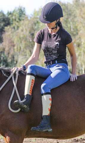 Dressage Diva Horse Riding Socks