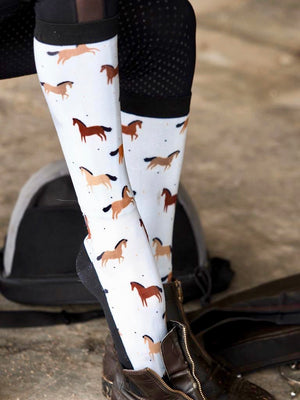 'Bay is Bae' Horse Riding Socks