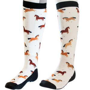 Bae is Bay horse riding socks