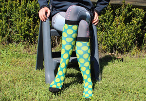 'Bright Spot' Horse Riding Socks