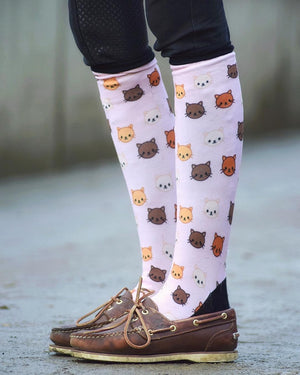 Crazy for Cats Socks