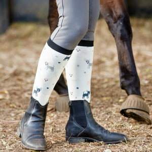Chihuahua love Horse Riding Socks