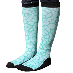 Aqua Blue Horse Riding Socks