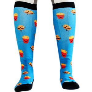 'Happy Burger' Horse Riding Socks