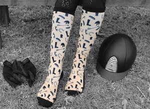 Show Horse Items Riding Socks