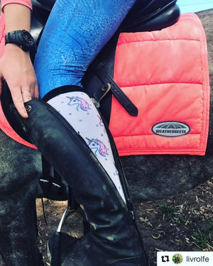 'Ultimate Unicorn' Horse Riding Socks