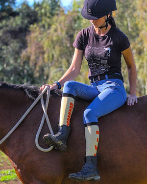 'Dressage Diva' Horse Riding Socks