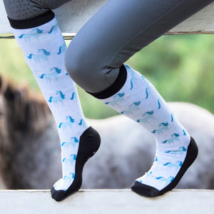 'Ice Unicorn' Horse Riding Socks
