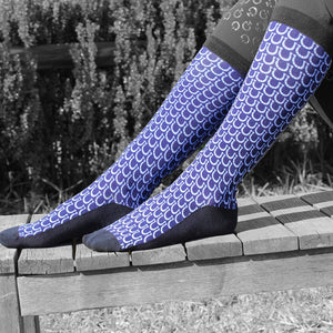 Navy Blue Equestrian socks