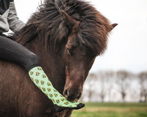'Dancing Avocado' Horse Riding Socks
