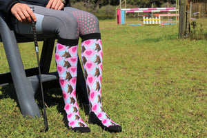 'Pony Love' Horse Riding Socks equestrian