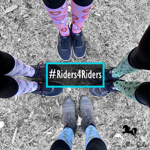 #Riders4Riders Float Sticker