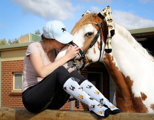 Shades of Neigh Equestrian Socks