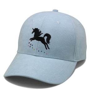 Two White Socks Unicorn Suede Cap