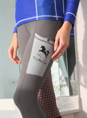 'Ultimate Unicorn' Horse Riding Tights