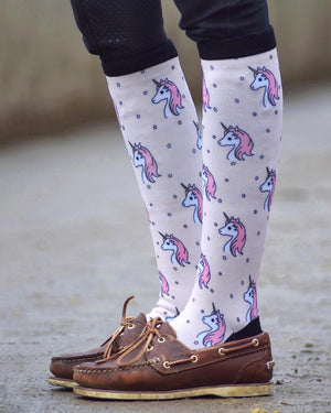 Ultimate unicorn equestrian socks