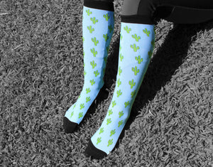 'Bristly Cacti' Horse Riding Socks