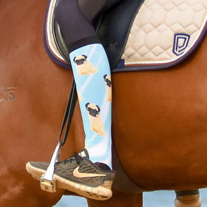 'Pug Life' Horse Riding Socks