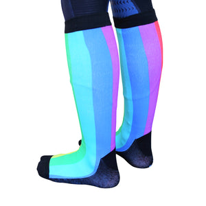 'Somewhere Over the Rainbow' Horse Riding Socks