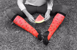 'Seedy Watermelon' Horse Riding Socks