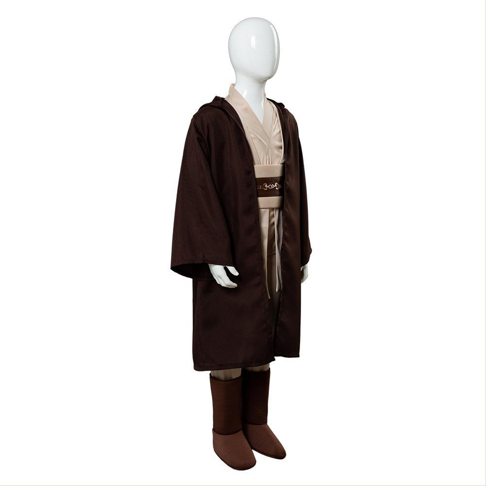 Halloween Kids Star Wars Jedi Knight Cosplay Costume Stage Performance Outfit