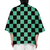 Unisex Demon Slayer Kimetsu no Yaiba Kamado Tanjirou Cosplay Costumes Halloween Costume Cloak