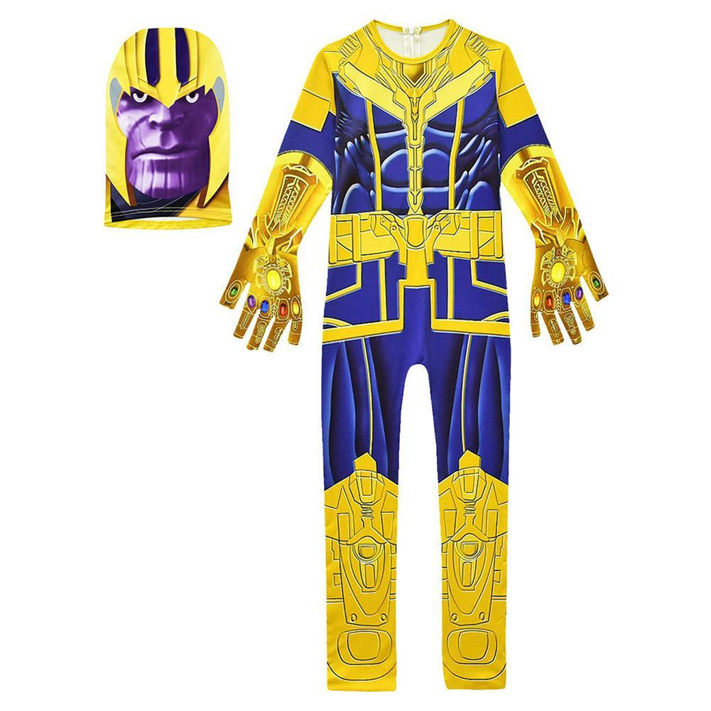 Kids Avengers: Endgame Thanos Costume Halloween Cosplay Costume