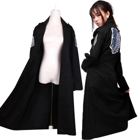 Attack on Titan Levi Rivaille Jacket Cloak Adult Halloween cosplay Costume