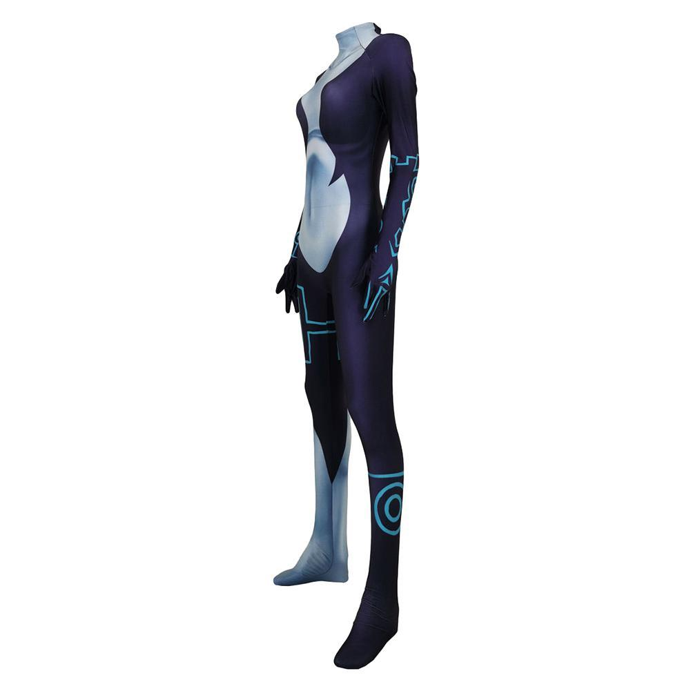 Women The Legend of Zelda Cosplay Costume Twilight Princess Bodysuit Zentai Halloween Jumpsuit