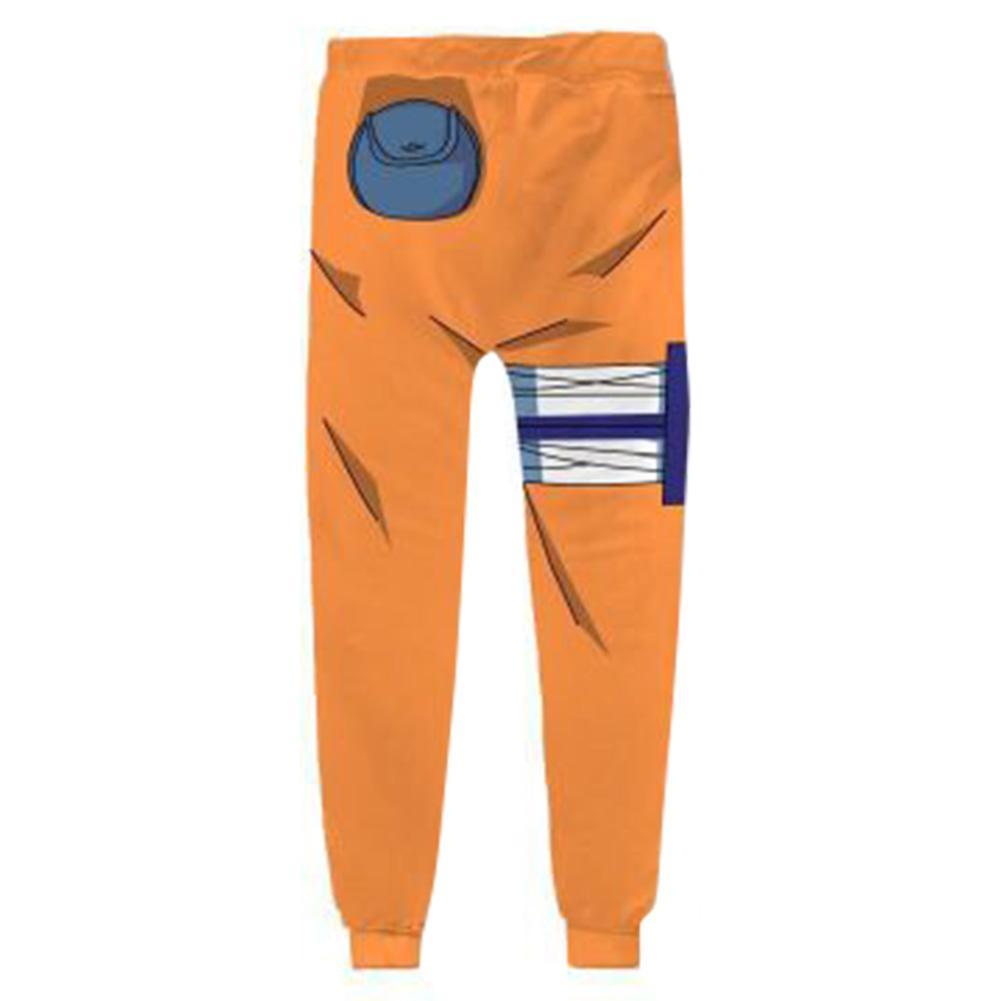 Unisex Anime Naruto Jogger Pants Regular Fit Sweatpants Casual Sports Trousers