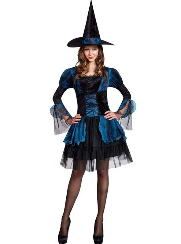 Witch Dress Plays The Role Of Adult Halloween Costume