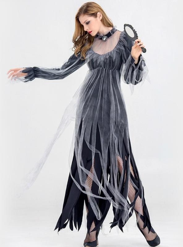 Halloween Funeral Ghosts Bride Costumes Vampire Demon