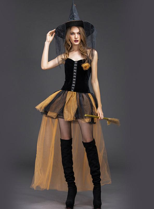 Horror Witch Role Playing Costume Halloween Witch
