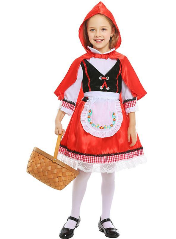 Little Red Riding Hood in Halloween Costumes