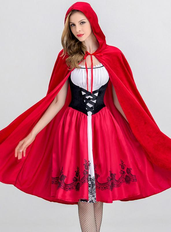 Halloween Little Red Riding Hood Costume Cosplay